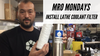 MRO Mondays: Install a Lathe Coolant Filter