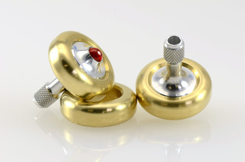 Lambda Two Piece (Aluminum & Brass)
