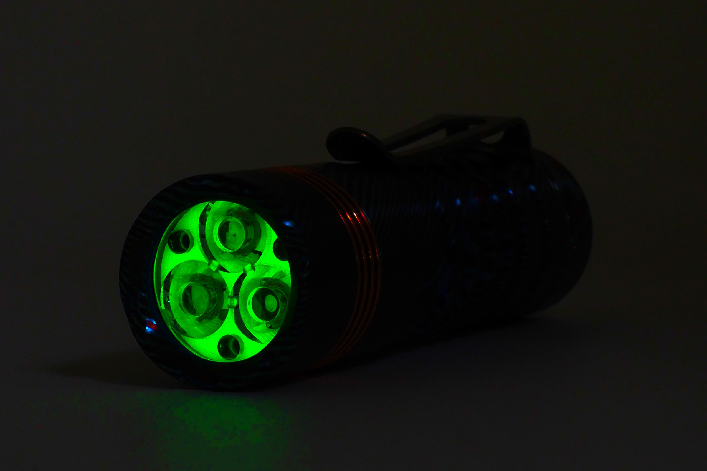 Delta Flashlight (Blasted Hex Electroless Nickel)