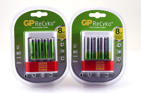 GP NiMH Rechargeable AA or AAA