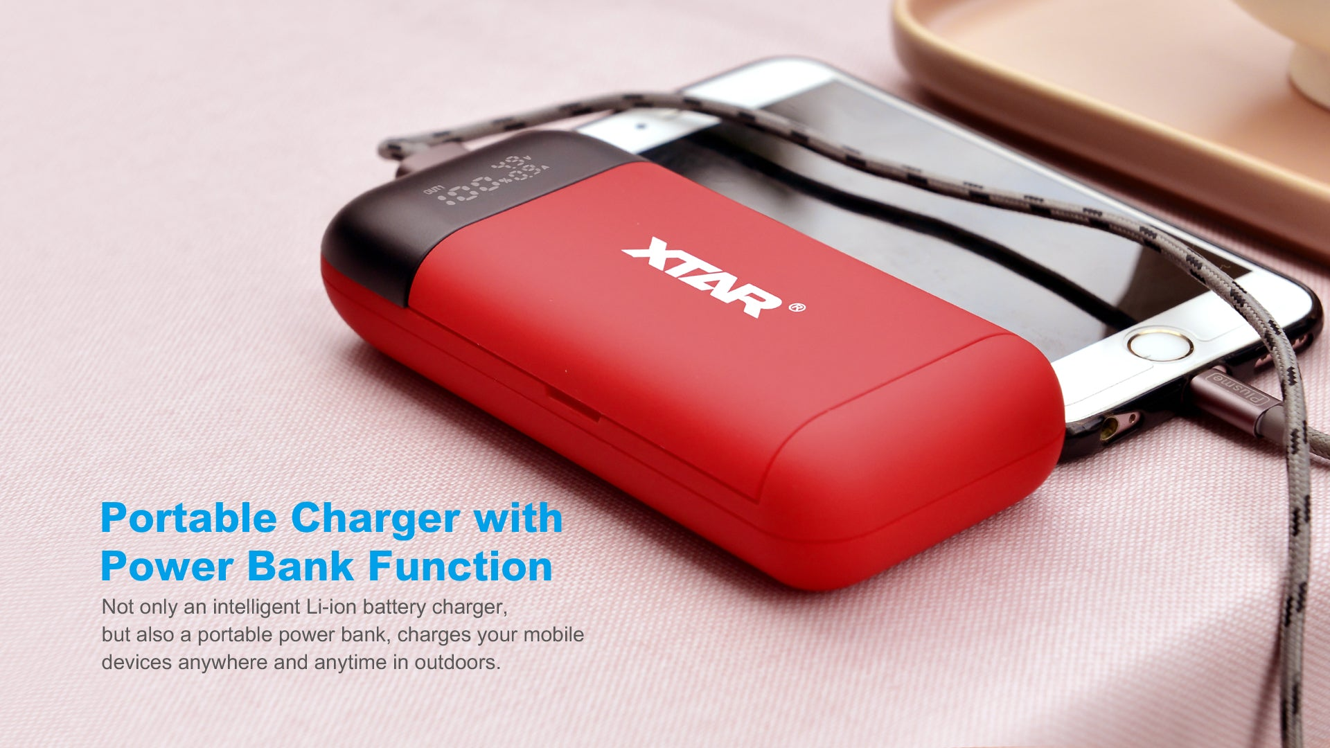 Xtar PB2S Charger/Powerbank