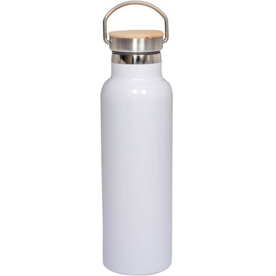 Vacuum Bottle With Bamboo Lid 20 oz.