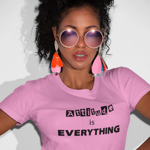 Attitude Is Everything Womens Tee