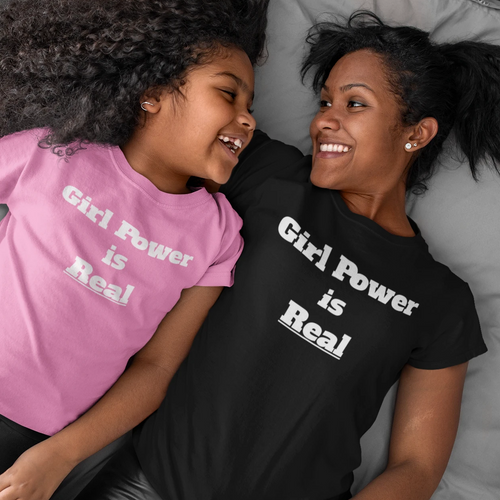 Girl Power Is Real Tee
