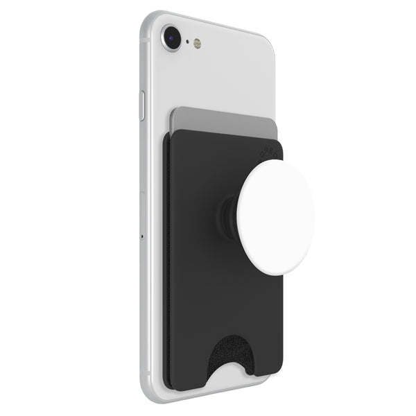 PopSockets PopWallet+ - White/Black