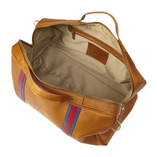 Racer Leather Round Duffel - Vachetta Tan