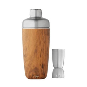 S'well 18 oz Teakwood Shaker Set