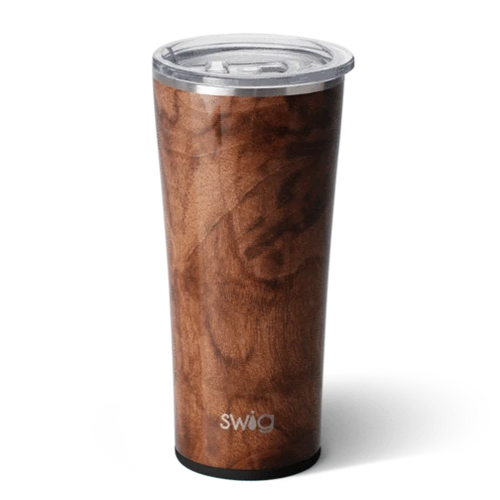 Swig Print Tumbler - Black Walnut 22 oz