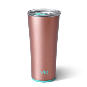Swig Print Tumbler - Rose Gold 22 oz