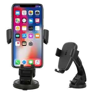 Wireless Charging Suction Car Phone Holder