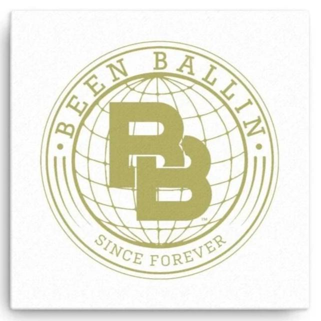 Been Ballin' Since Forever Globe Canvas Wall Art