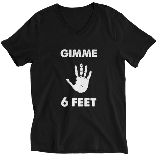 Gimme 6 Feet Unisex Short Sleeve V-Neck T-Shirt