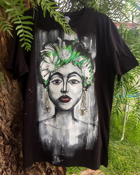 hand painted original t shirt