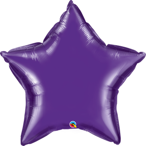 Quartz Purple Star