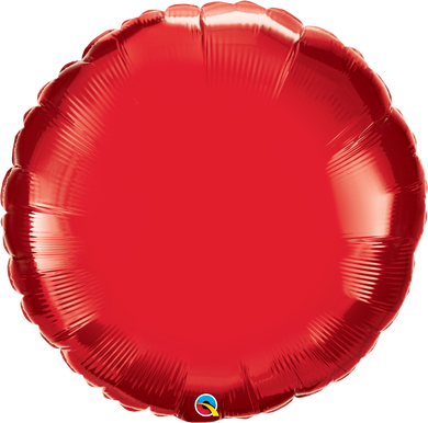 Ruby Red Round