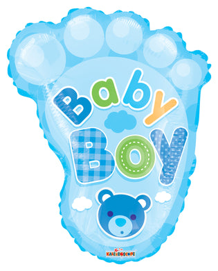 Baby Boy Foot Shape