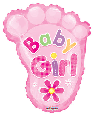 Baby Girl Foot Shape