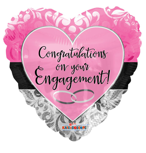 Engagement Pink Heart