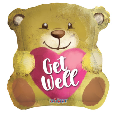 Get Well Bear With Heart
