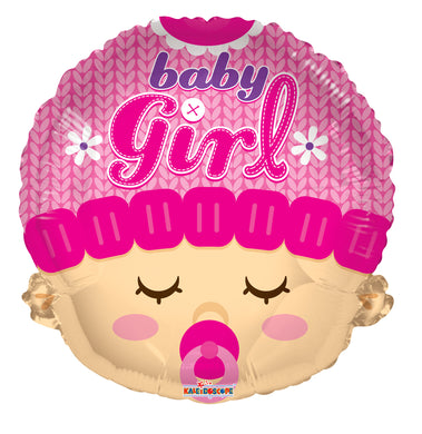 Baby Girl Head Shape
