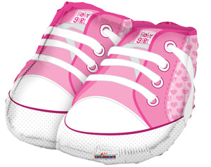 Baby Shoes Pink Shape