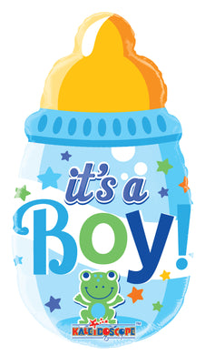 Baby Bottle Boy Mini Shape