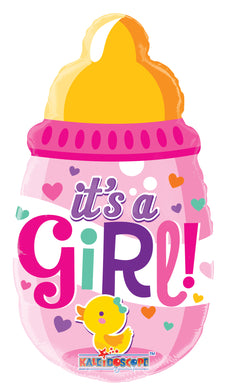 Baby Bottle Girl Mini Shape