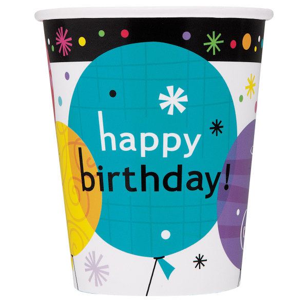 Breezy Birthday Paper Cups