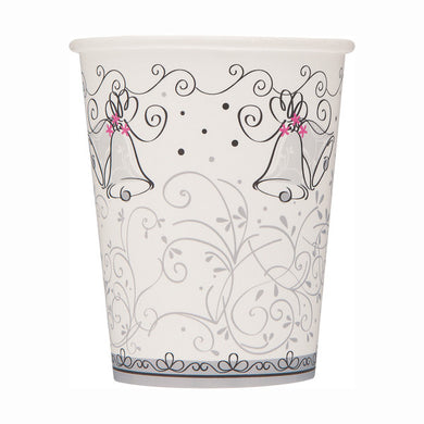 Wedding Style Paper Cups