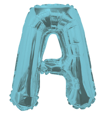 Letter A Light Blue