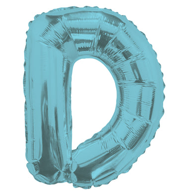 Letter D Light Blue