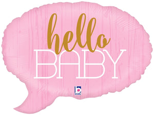 Hello Baby - Pink