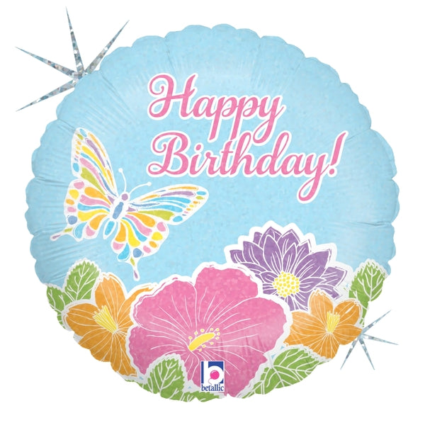 Pastel Butterfly Birthday