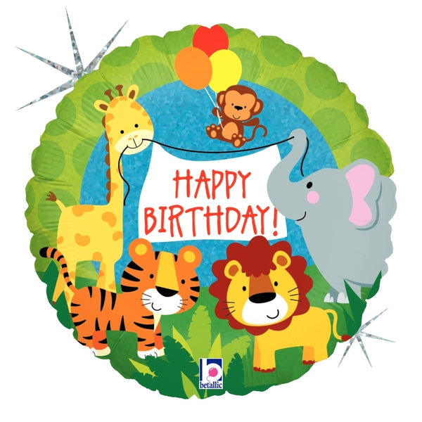 Jungle Animals Birthday