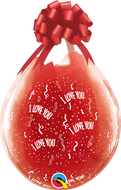 Stuffing Balloon - I Love You-A-Round