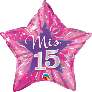 Mis 15 Hot Pink