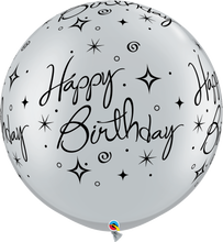 Load image into Gallery viewer, Birthday Sparkles & Swirls-A-Round