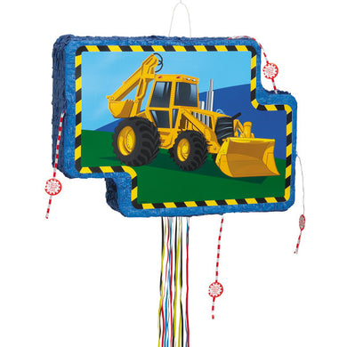 Construction Vehicle Pop Out Piñata