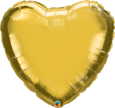 Metallic Gold Heart