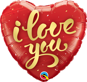 I Love You Gold Script