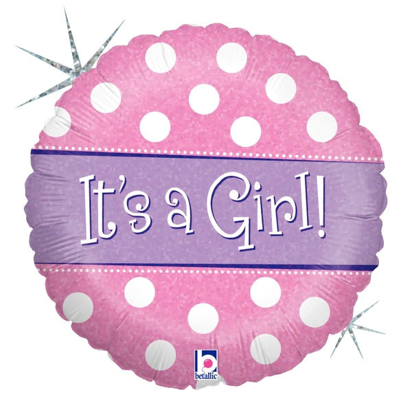 Polka Dot Its A Girl