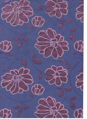 Can Can Floral Blue / Pink