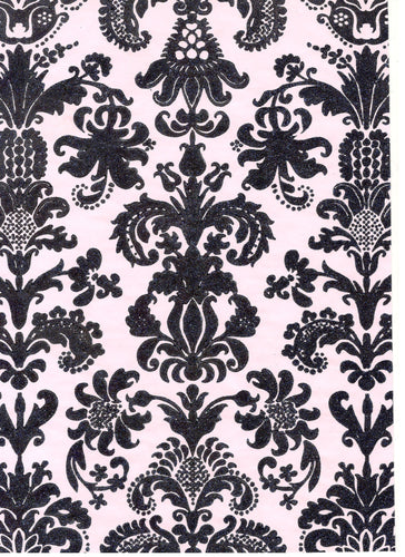 Can Can Damask Blue / Pink