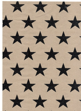 Dazzle Kraft Chunky Star Black