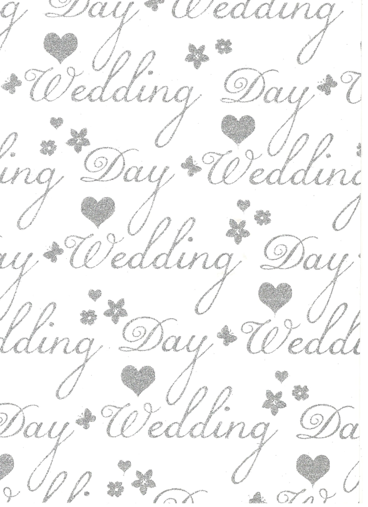 With Love Wedding Day Silver