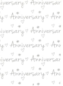 With Love Anniversary Silver