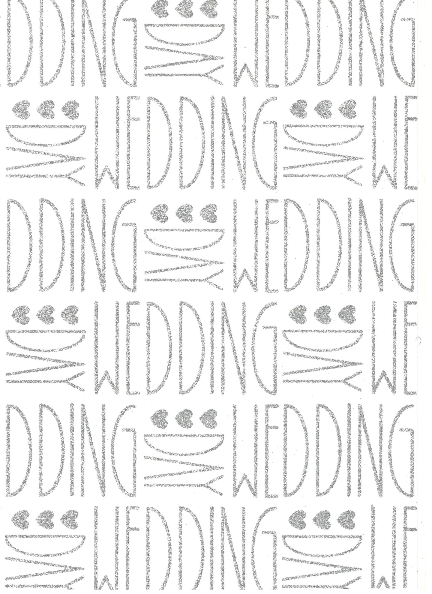 With Love Deco Wedding Silver