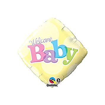 Welcome Baby Yellow Dots