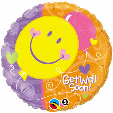 Get Well Soon! Smile Faces