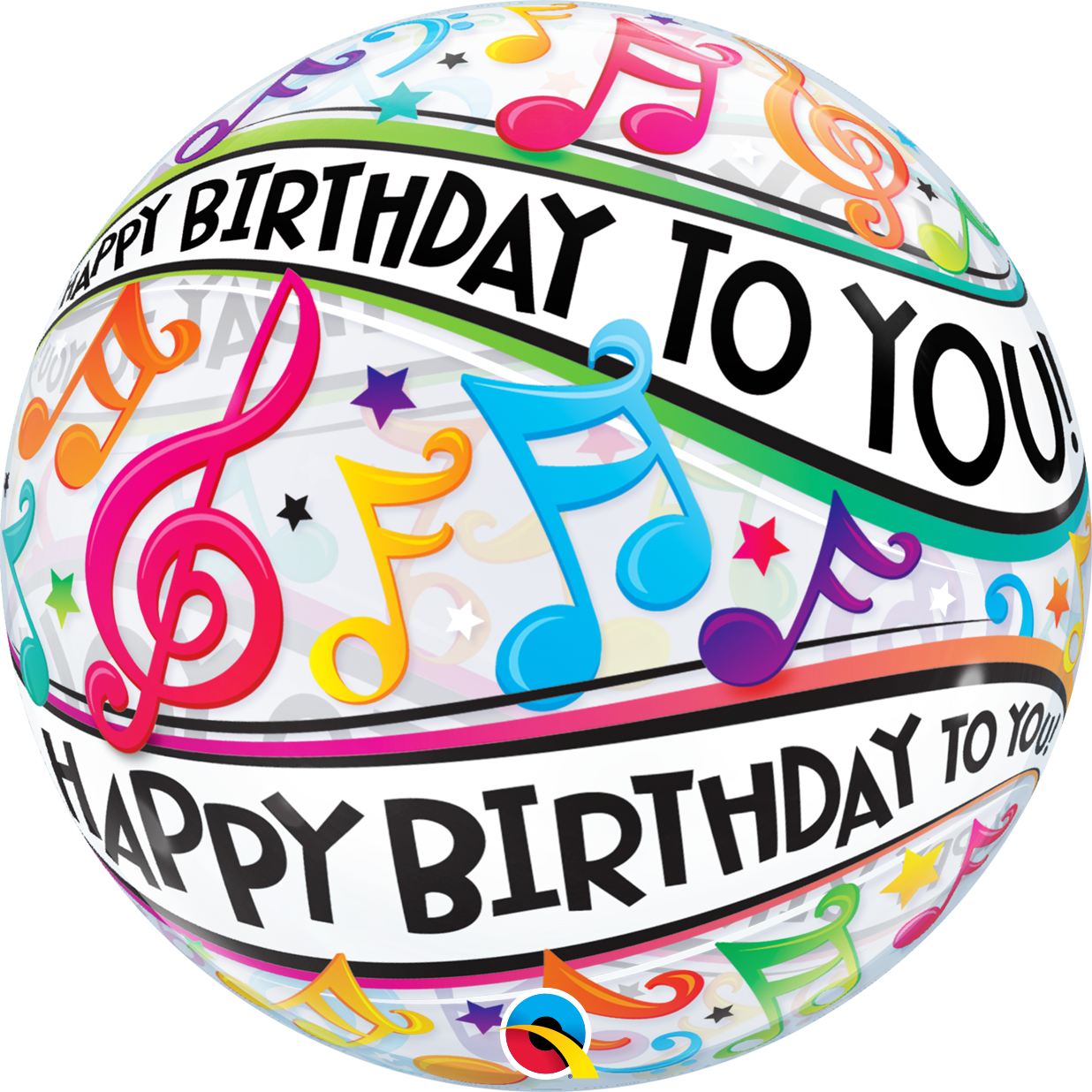 Happy Birthday To You Music Notes Party Perfect